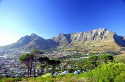 Table Mountain as seen from Signal Hill