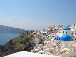 Oia  blue top church (19404022)