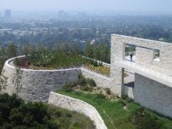 A View from the Getty Center in LA.