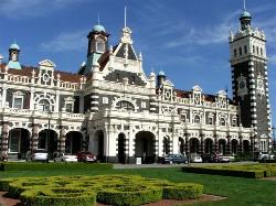 Dunedin Railway Station, New Zealand South Island