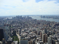Empire State Building Observatory Deck- Downtown View (23091302)