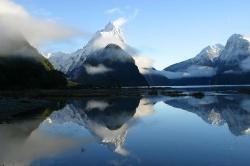 Milford Sound reflective