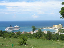 Ocho Rios from Spice Mountain - October 2008