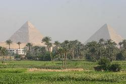 First glimpse of Pyramids