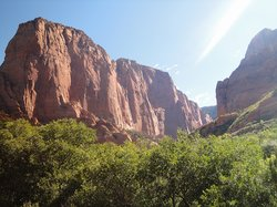 Kolob Canyon Road