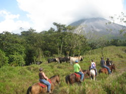 Arenal Volcano riding tour