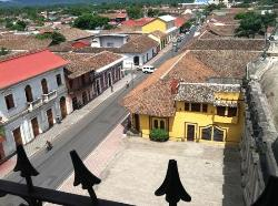 View from La Merced Bell Tower