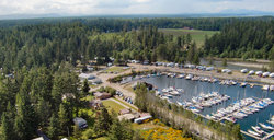 Pacific Playgrounds International RV Park, Cottages, Marina