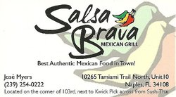 Salsa Brava Mexican Grill