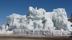 The Ice Castles at Silverthorne