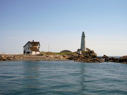 Little Brewster Island and Lighthouse