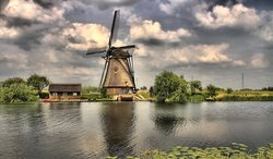 The Mill Network at Kinderdijk-Elshout
