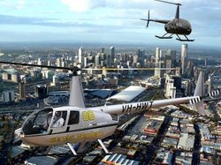 Private 30-Minute Scenic Helicopter Flight of Melbourne