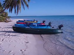 Cocos Islands Motorized Canoe Safari
