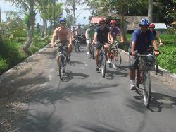 Celebrity Cycling Tour Bali