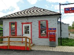 Historic Post Office at Carcross