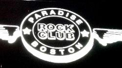 The Paradise Rock Club