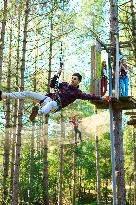 Go Ape at Forest of Dean, Gloucestershire