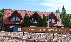 British Columbia Visitor Centre at Merritt