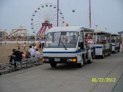 Ocean City Boardwalk Tram
