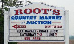 ‪Root's Country Market & Auction‬