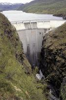 Alta Canyon and the Alta Dam