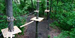 Aerial Forest Adventure Park at Harpers Ferry