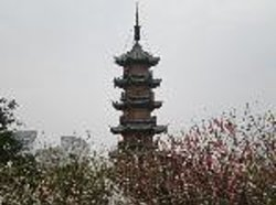 Longhua Temple and Longhua Twin Towers