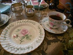 Dining at the Nagle Warren Mansion Bed and Breakfast
