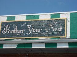 Feather Your Next Antique Mall