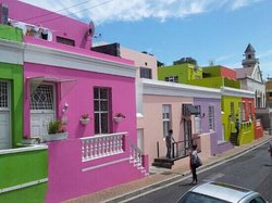 Cape Malay Quarter or BoKaap in Cape Town.  Full of character & charm. Well worth visiting +2783 (74510808)