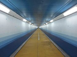 Kanmon Tunnel for Humans