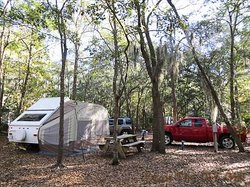 Tuck in the Wood Campground