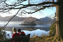 The view from Friar's Crag over Derwentwater down to Borrowdale is stunning (86741384)