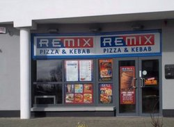 Remix Pizza and kebab