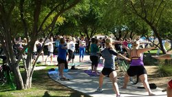 Yoga in the Park by Power Yoga