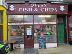 ‪Papa's Fish & Chips - Cliftonville‬