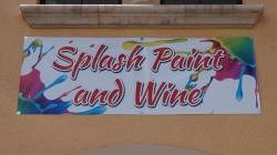 Splash Paint And WIne