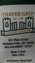 Thayer Gate Deli and Cafe