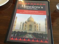 Manvirro's Indian Grill