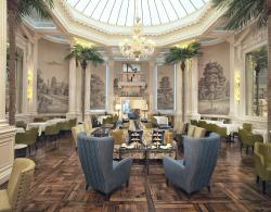 Palm Court at The Balmoral