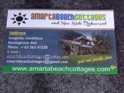 Amarta Beach Seaside Restaurant