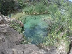 Fossil Springs Trail Head