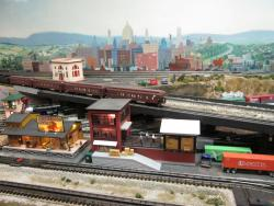Edgerton Model Railroad Room