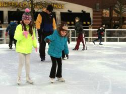 Rockville Town Square Outdoor Ice Skating