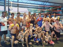 Jazz Boxing at Kamala Muay Thai Gym
