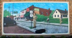 View the murals in Grove City's charming town center.