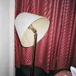 Broken lamp - Room 1038