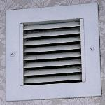 Dirty bathroom fan (that did not work) - Room 1038