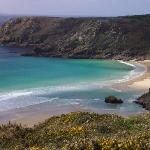  Porthcurno taken from coastal footpath